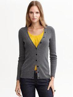 Extra fine merino wool cardigan | Banana Republic