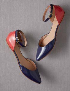 Colourblock Points AR555 Shoes at Boden