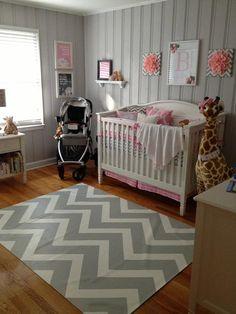 Custom floorcloth for nursery by artbelongseverywhere on Etsy, $375.00