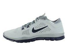 New Nike Women's Free 5.0 TR Fit 4 Team Cross Trainer White/Blue 6.5