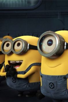 Minions... making the world laugh just by their existence