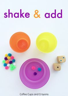 Shake and Add! An active addition game that makes math fun and hands on!