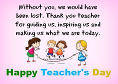 Happy Teachers Day Messages  1000 Teachers Day Quotes Images