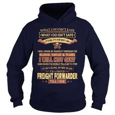 FREIGHT-FORWARDER T Shirts, Hoodies Sweatshirts. Check price ==► http://store.customtshirts.xyz/go.php?u=https://www.sunfrog.com/LifeStyle/FREIGHT-FORWARDER-Navy-Blue-Hoodie.html?41382