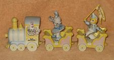 Schmid - Kitty Cucumber 1988 Cat KC Express Musical Train Set, Great Condition!