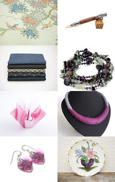 Handmade and Vintage Finds! by Bev Martin on Etsy--Pinned with TreasuryPin.com #seypush #google