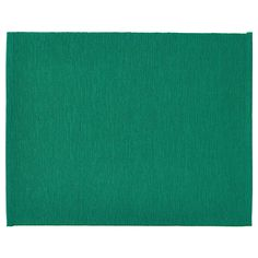 IKEA - UTBYTT, Place mat, dark green, Protects the table top surface and reduces noise from plates and cutlery. Colours are retained wash after wash thanks to the yarn-dyed cotton. Green Placemats, Table Verte, Ireland Fashion, Ikea Family, Dark Teal, Furniture Companies, Bunt, Coasters, Spinning