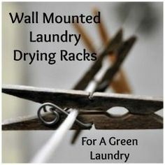Wall Mounted Clothes Drying Rack For Home
