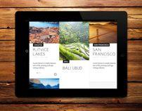 Travel Blog - Concept