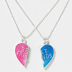 BFF necklaces . . . My best friend and I weren't savvy enough to know what the male and female symbols meant, so with the necklace we bought, I got stuck with the boy half. I wonder if the popular kids had a whole rack of these hanging in their closets.