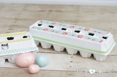 Easy Easter Craft Ideas: DIY Decorative Easter Egg Cartons
