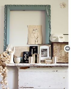 Lovely pieces filled with memories. Source: styleathome.com Photography by Debi Treloar from Decorate: 1,000 Ideas For Every Room of Your Home by Holly Becker and Joanna Copestick.