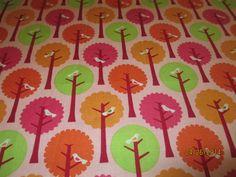 Riley Blake Designs Pattern C7052 Summer by Customdesignsbymimi (Craft Supplies & Tools, Fabric, CASTTEAM, capsteam, DFW handmade, Green, birds, trees, orange, pink, yellow, twitter, Riley Blake, Summer Song, My Mind's Eye)