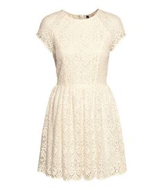 White lace dress | H&M DE