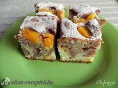 Joghurtos kevert idény gyümölccsel recept fotó Hungarian Desserts, Hungarian Cake, Hungarian Recipes, Croatian Recipes, Sushi, French Toast, Muffin, Low Carb, Sweets