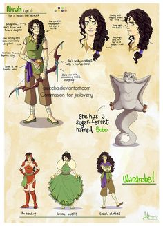 Commission - Avatar OC Ahnah by Aleccha on DeviantArt