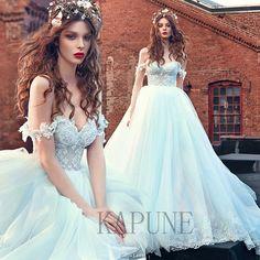 2017 Off-Shoulders Wedding Dresses Sweetheart Bridal Princess Elegant Ball Gowns
