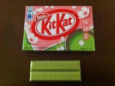 Green tea kit kat!