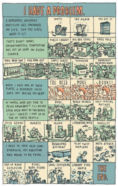 INCIDENTAL COMICS: books. So true. The true reader will find something to read everywhere they go.