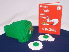 green eggs and ham out of legos