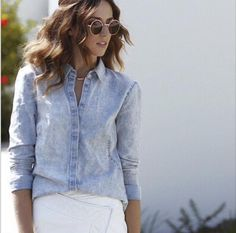 FindersKeepers denim shirt.  #suitster #online #store #fashion #style #newarrivals #cameothelabel #finderskeepers