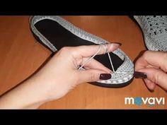 Women's loafers part 1 - Schuhe Crochet Slipper Boots, Crochet Sandals, Knit Shoes, Crochet Slippers, Sock Shoes, Crochet Shoes Pattern, Shoe Pattern, Crochet Patterns, Crochet Dragon