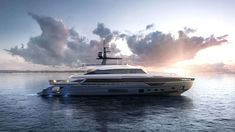 Azimut's Incredible Grande Trideck Yacht is Almost Complete