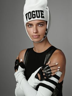 Adriana Lima for Vogue Italia by Steven Meisel