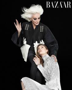 Harper's Bazaar präsentiert die von Global Fashion Director Carine Roitfeld produzierte Modestrecke für internationale September-Ausgaben