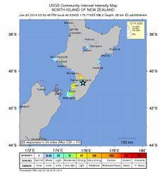 Terremoto de magnitud 6.2 sacude la Isla Norte de Nueva Zelanda - noticiasdehoy.co