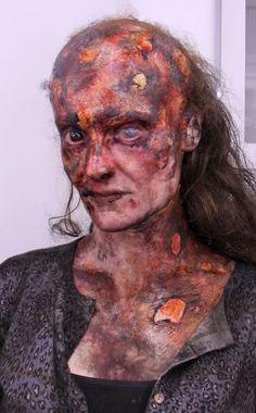 halloween burn makeup - Recherche Google