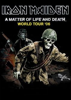 Iron Maiden- A Matter of Life and Death Tourbook...