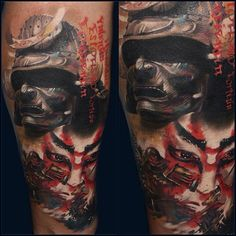 Samurai Forearm Piece | Best tattoo design ideas