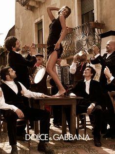 Dolce & Gabbana Ad Campaign Spring/Summer 2012