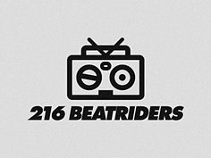 Logo for the 216 Beatriders B-Boy Crew in Cleveland