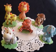 Safari Baby Shower Decorations Jungle Theme by PartyFavorsMiami