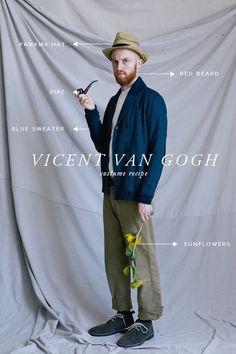 Vincent Van Gogh costume recipe