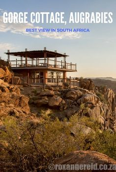 Gorge Cottage in Augrabies Falls National Park, South Africa, has wonderful views of the Orange river gorge Africa Destinations, Travel Destinations, Beautiful World, Beautiful Places, Hello Beautiful, Augrabies Falls, All About Africa, Tent Living, To Go