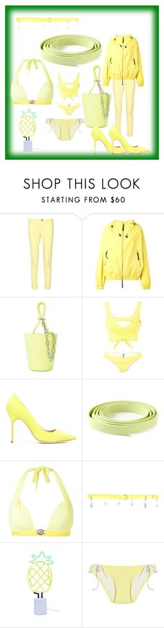 """fashion for alert"" by denisee-denisee ❤ liked on Polyvore featuring 10 Crosby Derek Lam, Marni, Alexander Wang, Lisa Marie Fernandez, Manolo Blahnik, Ermanno Scervino, Versace, Versus, Sunnylife and Solid & Striped"