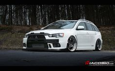 Evo x wagon??... is there such a creature as beautiful as this out there?!?