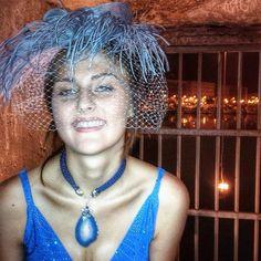 Meraviglia in blu.  Incantevole... Dalla sfilata di ieri sera @missartemodaitalia Abiti Alta Moda @cristinabertuccelli gioielli @rosannapasquini e creazioni @rinaldelli1930  #cappello #cappelli #hat #instalike #instafun #instalife #fashion #womenfashion #madeinitaly #livorno #madeinitaly #moda #modadonna #fascinator #artigianato #modisteria #modella #modelle #fashionphoto #accessori #stile #style #l4l #concorso #modella #modelle #bellezza #model #girl