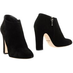 Dolce & Gabbana Shoe Boots ($549) ❤ liked on Polyvore featuring shoes, boots, ankle booties, black, zipper boots, dolce gabbana boots, black zip boots, black boots and round cap