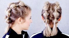 workout hairstyles for short hair / workout hairstyles for short hair ; workout hairstyles for short hair gym ; workout hairstyles for short hair bobs Braids For Short Hair, Short Hair Cuts, Short Hair Updo Easy, Short Hair Braids Tutorial, Up Dos Short Hair, How To Braid Your Own Hair Short, Short Hair Crown Braid, Box Braids, Easy Hair Braids