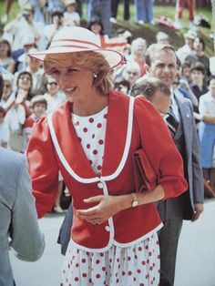June 23, 1983: Princess Diana in St John's, Newfoundland. (Day 10)