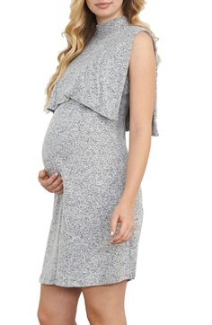 Free shipping and returns on Maternal America Sleeveless Maternity/Nursing Dress at Nordstrom.com. A cozy sweater knit and blouson top make this sleeveless dress a sophisticated maternity staple, while the discreet nursing access makes it equally essential once baby arrives.