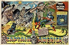 Captain America #8 by Jack Kirby.