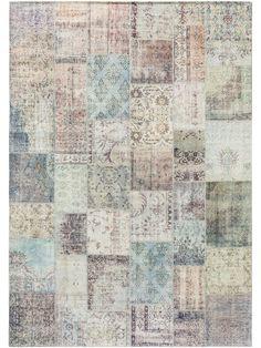 Covor Jelle Printed Multicolor Gri - 120 X 180 cm Vintage Patterns, Design Vintage, Color Trends, Weaving, Flooring, Quilts, Blanket, Modern, Printed