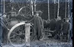 Zudusī Latvija - Lokomobiles pārvietošana Madonas novadā