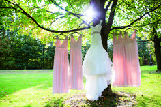 Wedding dress by Mor