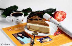 Кофейный торт со взбитыми сливками и миндально-грильяжным бисквитом. пошаговый рецепт с фотографиями